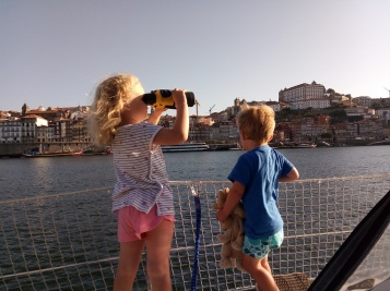 Réveil en centre ville de Porto
