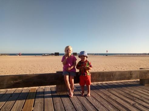 Pique nique sur la plage